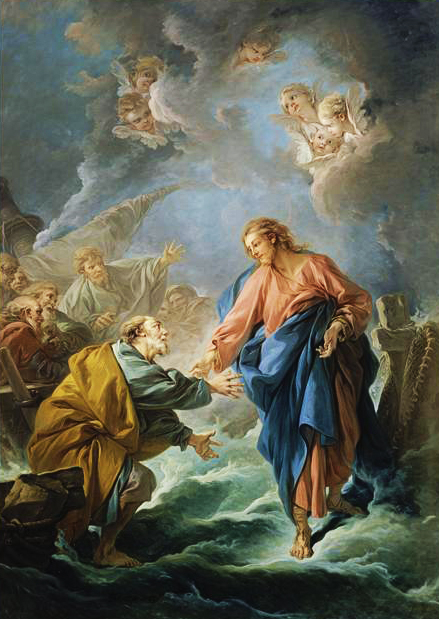 Saint Peter Attempting to Walk on Water
